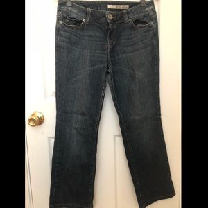 DKNY Distressed Jeans
